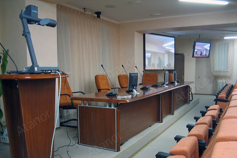 Конференц-зал в главном управлении центрального банка РФ по Нижегородской области