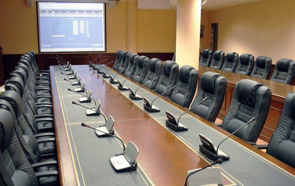 Зал заседаний директоров Лукойл в Москве