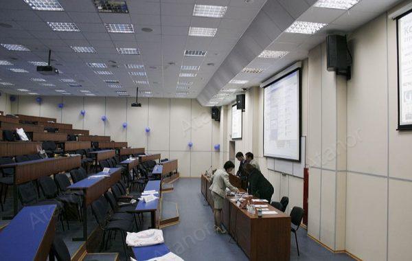 Оснащение учебных аудиторий МФПА