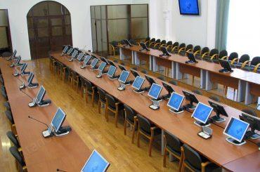 Зал заседаний ученого совета Ставропольского государственного университета