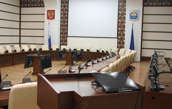 Зал заседаний Правительства Республики Бурятия