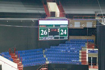 Светодиодные экраны в калининградском спорткомплексе «Янтарный»