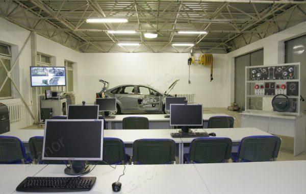 Учебная лаборатория «Устройство автомобиля»