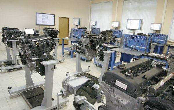 Учебная лаборатория «Агрегаты автомобиля»