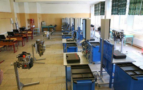 Учебный комплекс «Автокласс» в Московском строительном колледже №41