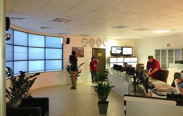 Ситуационный центр в Крокус-сити