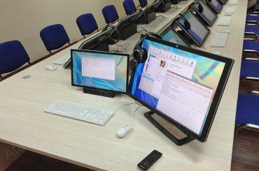 Лингафонный кабинет для Академии управления МВД