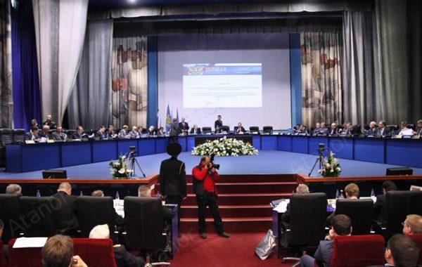 Конференц-зал с видеостеной 3х3 в Университете им. адмирала Ф.Ф. Ушакова