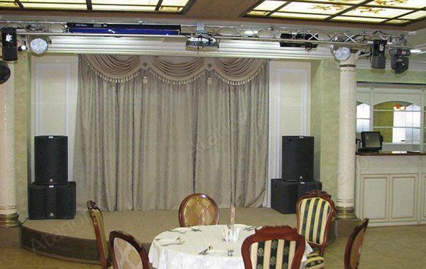 Акустика для ресторана «Хлынов»
