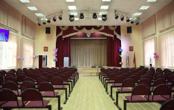 Актовый зал Московского технологического колледжа №28