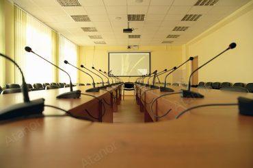 Бюджетный конференц-зал для московской школы