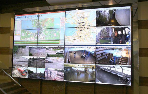 Мониторинговый центр охранной фирмы «ТИТАН»