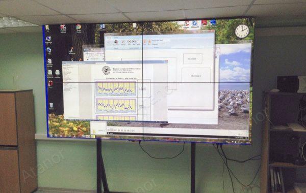 Видеостена для мурманского гидрометцентра