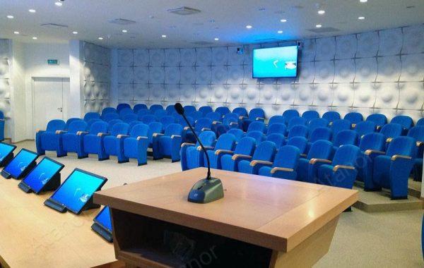 Многофункциональный зал с видеостеной для СОГАЗа