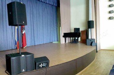 Звуковое оборудование для актового зала «Автотранспортного комбината»