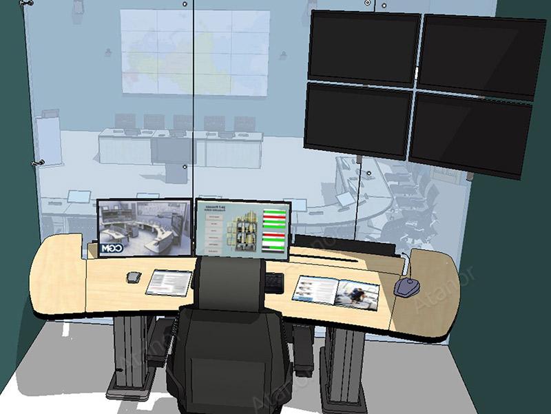 Проектирование ситуационного центра