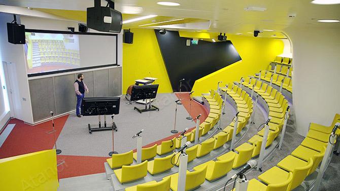 Конференц-зал в головном офисе компании «Яндекс»