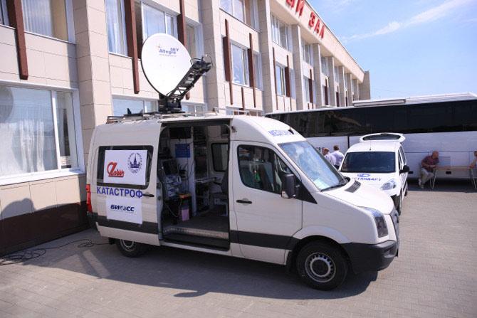 Автомобиль ВЦМК «Защита» с с мобильным телемедицинским комплексом
