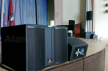 Профессиональное звуковое оборудование для актового зала «Автотранспортного комбината»