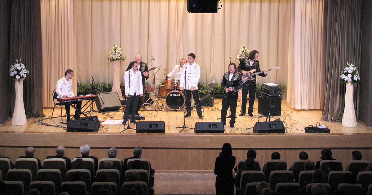 Оснащение концертного зала