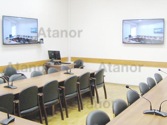 Конференц-зал в Ставропольском краевом институте развития образования, повышения квалификации и переподготовки работников образования