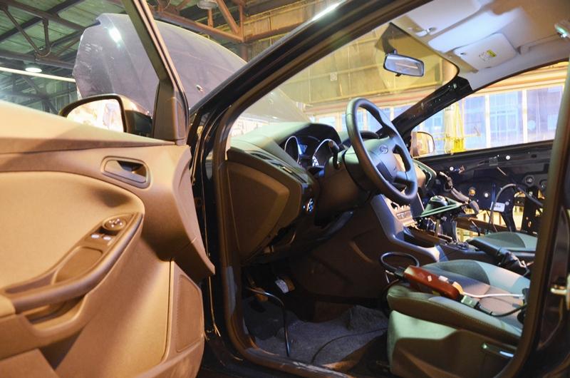 Учебный комплекс по диагностике и изучению агрегатов автомобиля