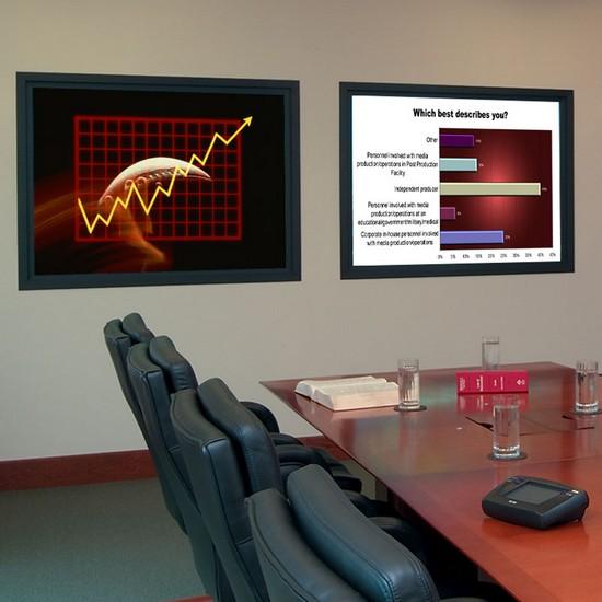 Проекционный экран обратной проекции
