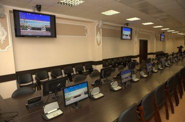 Система синхроперевода в залах МИФИ