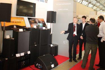 Профессиональная акустика Master Audio на выставке Integrated Systems Russia 2013