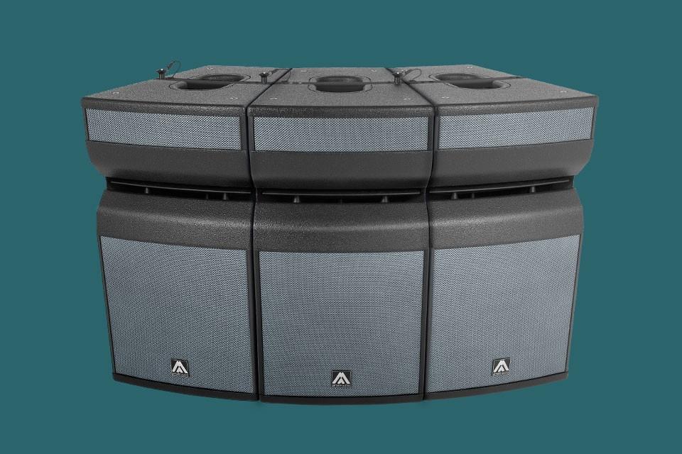 Презентация линейного массива Amate Audio X12CLA