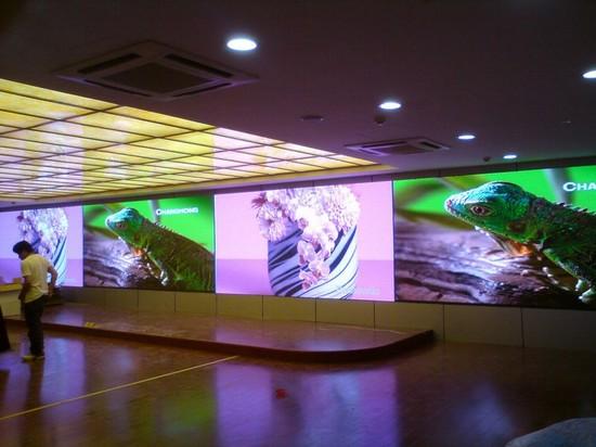 Светодиодные экраны для внутренней рекламы