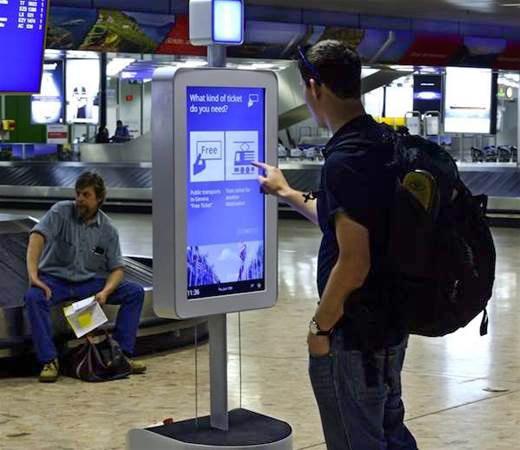 Профессиональная сенсорная панель для Digital Signage