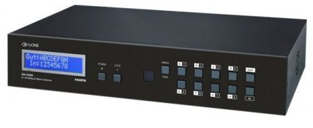 tvONE представляет 8 × 8 HDMI матричный коммутатор