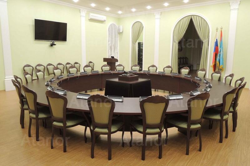 Конференц-зал «круглый стол» в Пензенском государственном университете