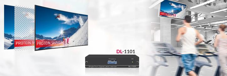DL-1101 от Kramer для наложения изображения на живое видео