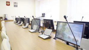 Модернизация конференц-зала ректора МИФИ