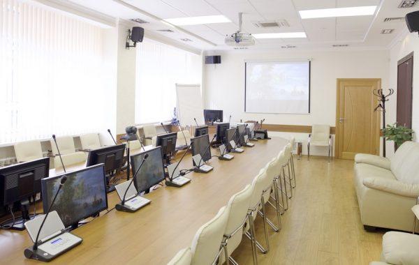 Оснащение конференц-зала ректора МИФИ
