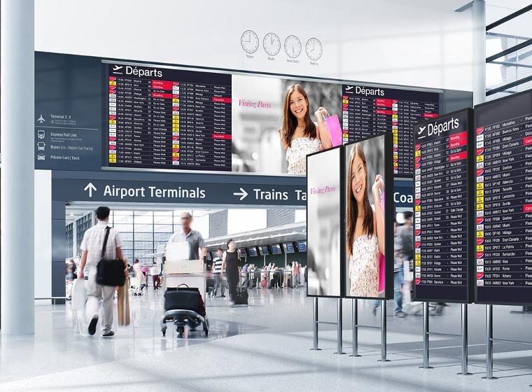 Digital Signage для аэропортов
