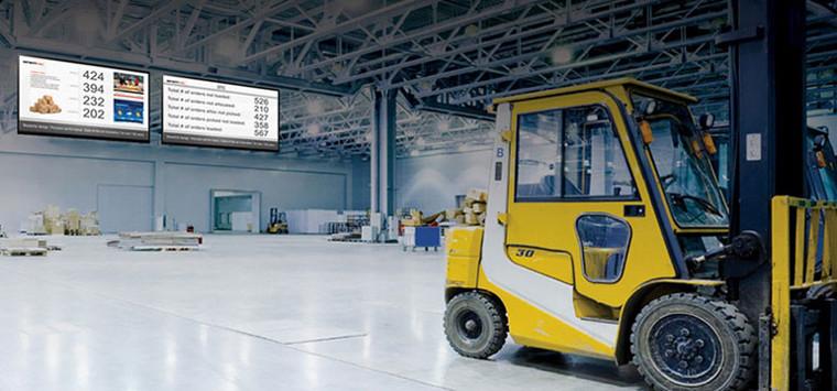 Системы Digital Signage на производстве