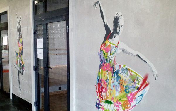 Оснащение танцевальных залов в Студии искусств