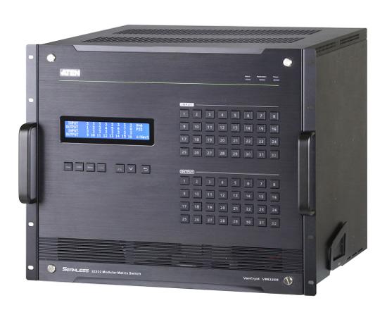 Модульный матричный коммутатор 32х32 ATEN VM3200