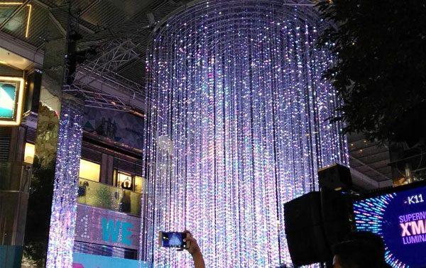 «Летающие светодиодные экраны», LED видеосеть
