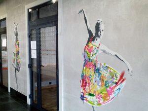 Оборудование танцевальных залов в cтудии искусств