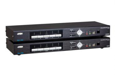 Компания ATEN представила новый  4K KVMP-переключатель CM1284