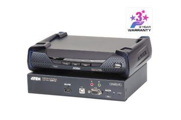 Новый HDMI KVM-удлинитель с доступом по IP и поддержкой 4К – ATEN KE8950