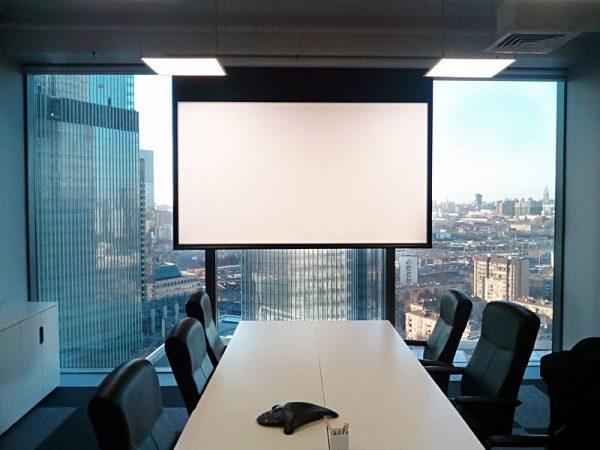 Модернизация переговорной адвокатского бюро в «Москва-Сити»