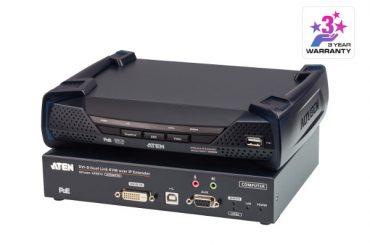 ATEN KE6912 / KE6910 — удлинители KVM-over-IP, специально разработанные для центров управления воздушным движением