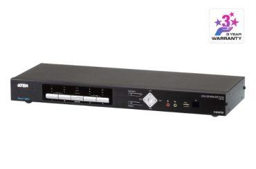 Видеообзор KVMP-переключателя ATEN CM1284