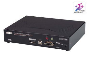 ATEN KE9952T — передатчик 4K DisplayPort KVM over IP,  PoE