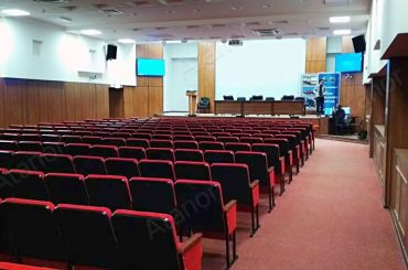 Оборудование конференц-зала ПАО «Машиностроительный завод»